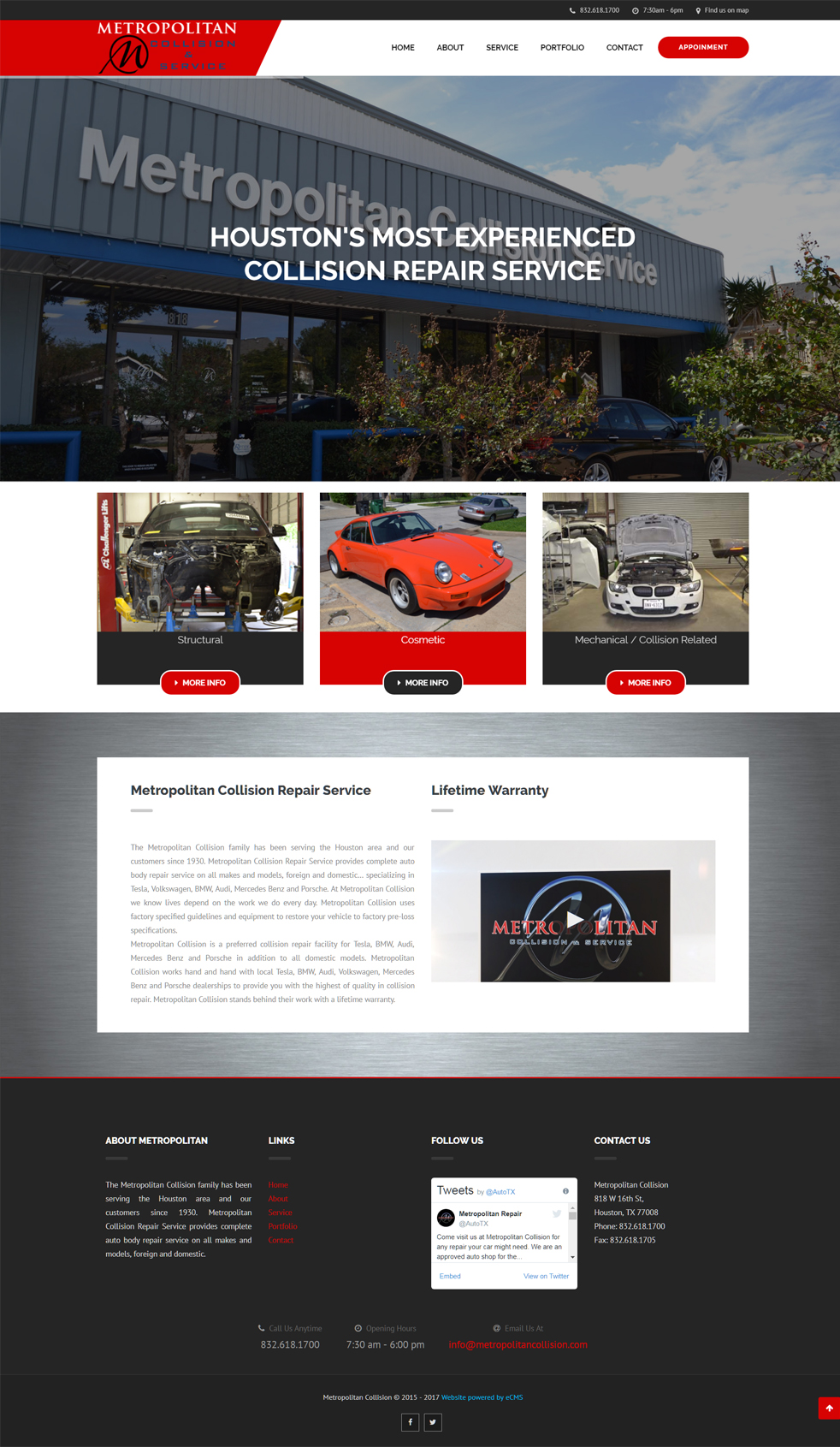 Car Repair - Web Design